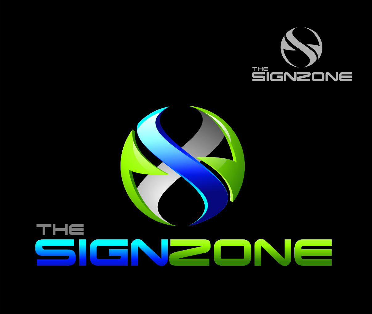 Logo Design by Reivan Ferdinan - Entry No. 31 in the Logo Design Contest Fun Logo Design for The Sign Zone.