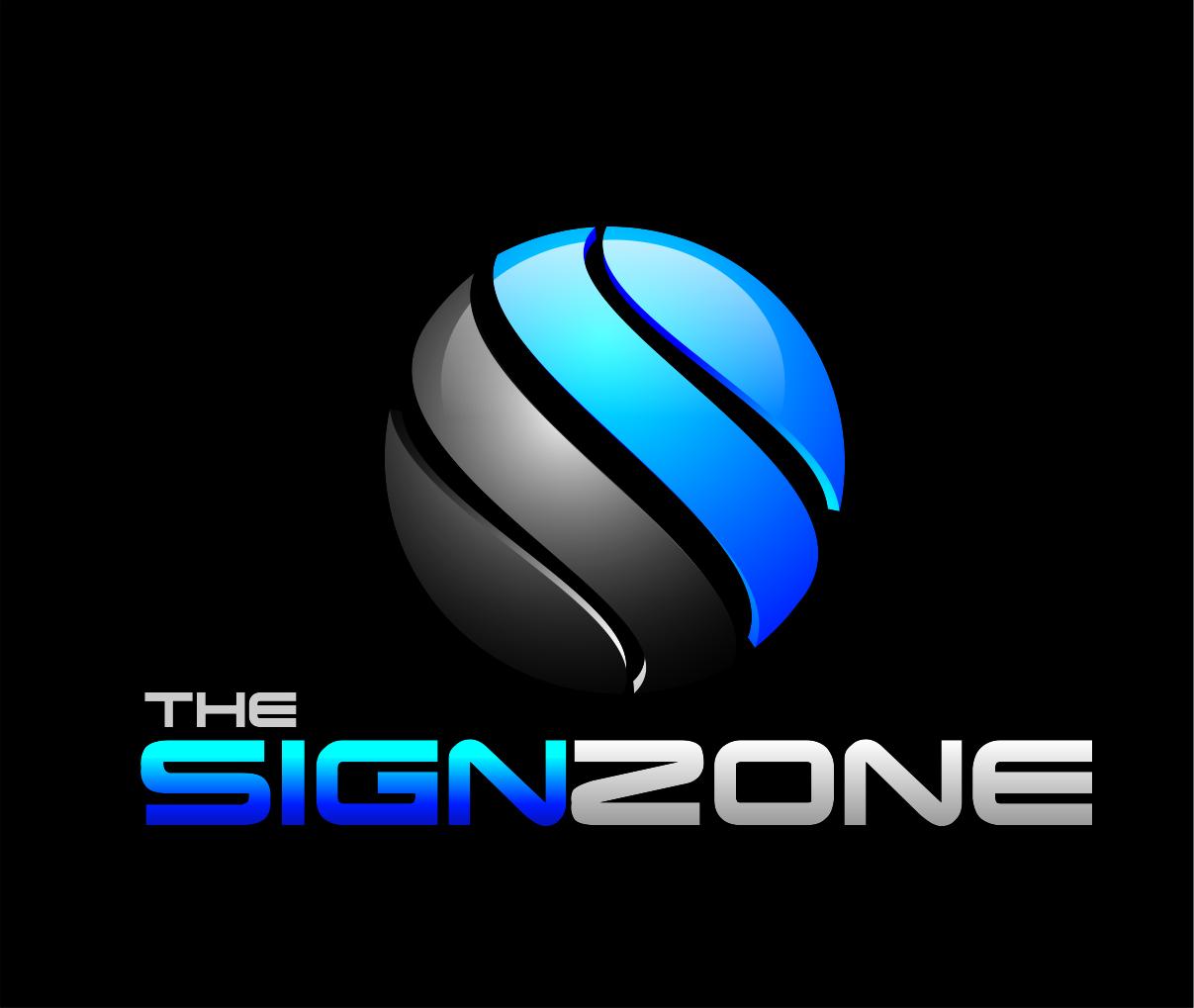 Logo Design by Reivan Ferdinan - Entry No. 34 in the Logo Design Contest Fun Logo Design for The Sign Zone.