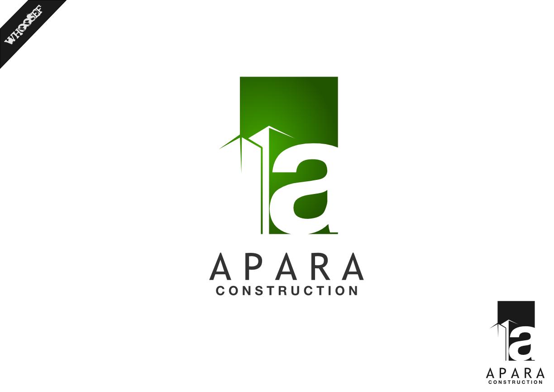 Logo Design by whoosef - Entry No. 75 in the Logo Design Contest Apara Construction Logo Design.