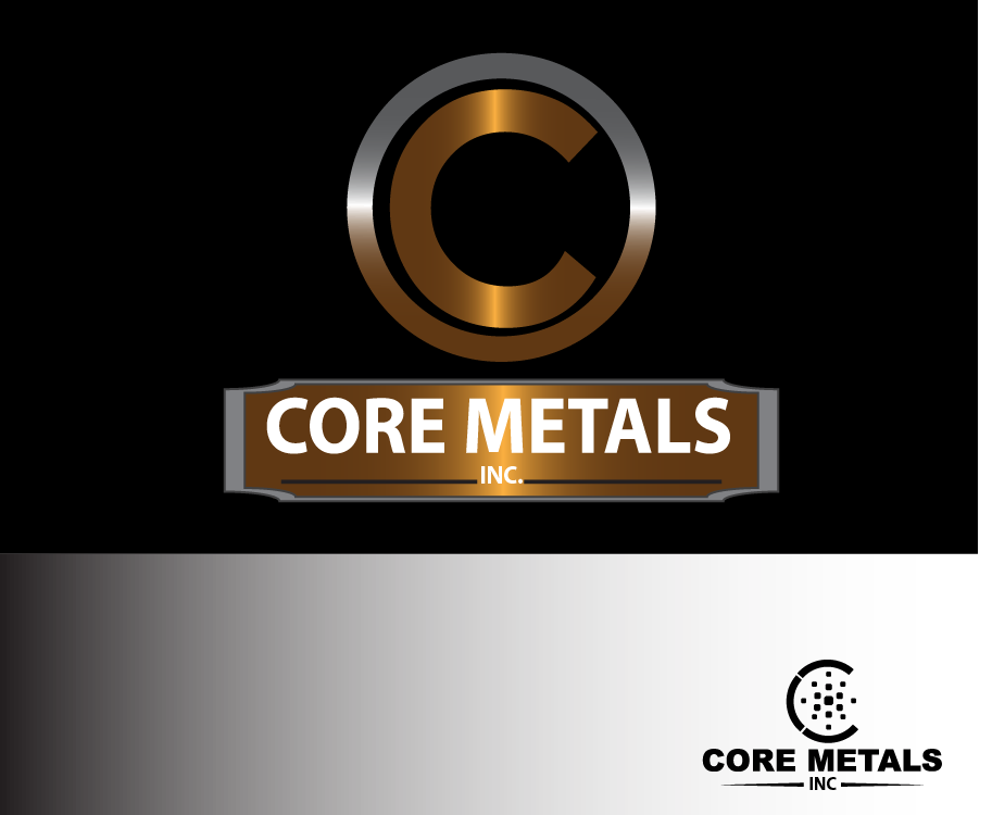 Logo Design by Jake Maco - Entry No. 65 in the Logo Design Contest New Logo Design for Core Metals Inc.