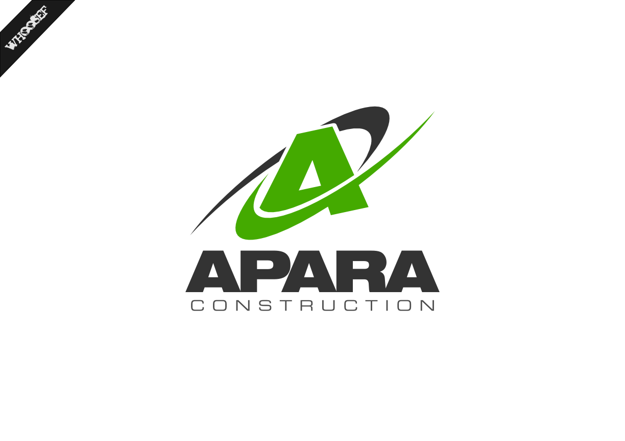 Logo Design by whoosef - Entry No. 77 in the Logo Design Contest Apara Construction Logo Design.