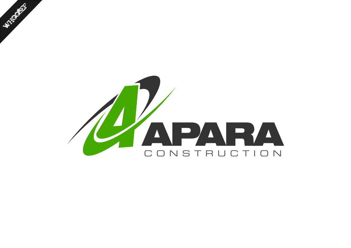 Logo Design by whoosef - Entry No. 78 in the Logo Design Contest Apara Construction Logo Design.
