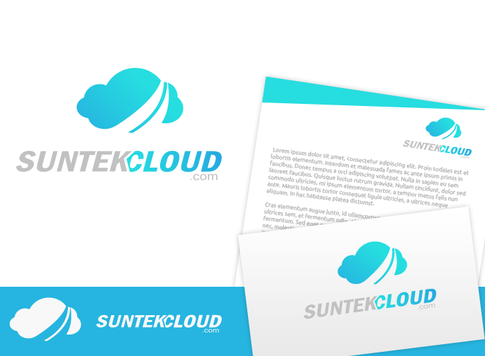 Logo Design by Jan Chua - Entry No. 31 in the Logo Design Contest Imaginative Logo Design for suntekcloud.com.
