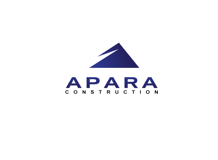 Logo Design by Jan Chua - Entry No. 79 in the Logo Design Contest Apara Construction Logo Design.