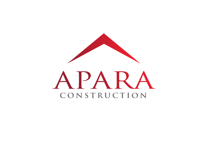 Logo Design by Jan Chua - Entry No. 80 in the Logo Design Contest Apara Construction Logo Design.