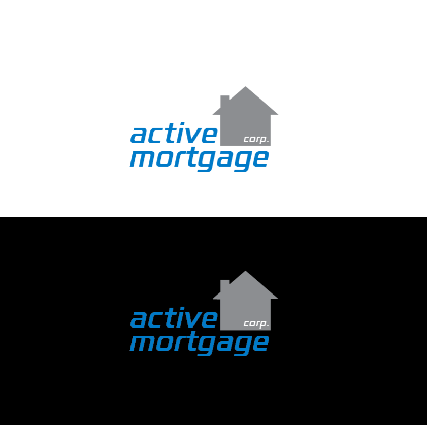 Logo Design by limix - Entry No. 74 in the Logo Design Contest Active Mortgage Corp..