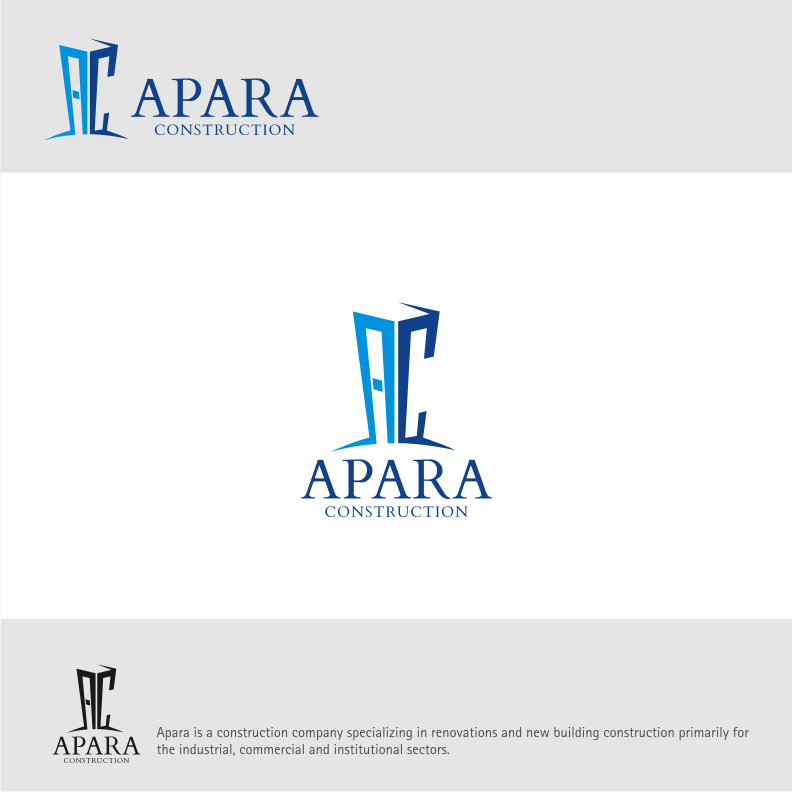 Logo Design by graphicleaf - Entry No. 86 in the Logo Design Contest Apara Construction Logo Design.