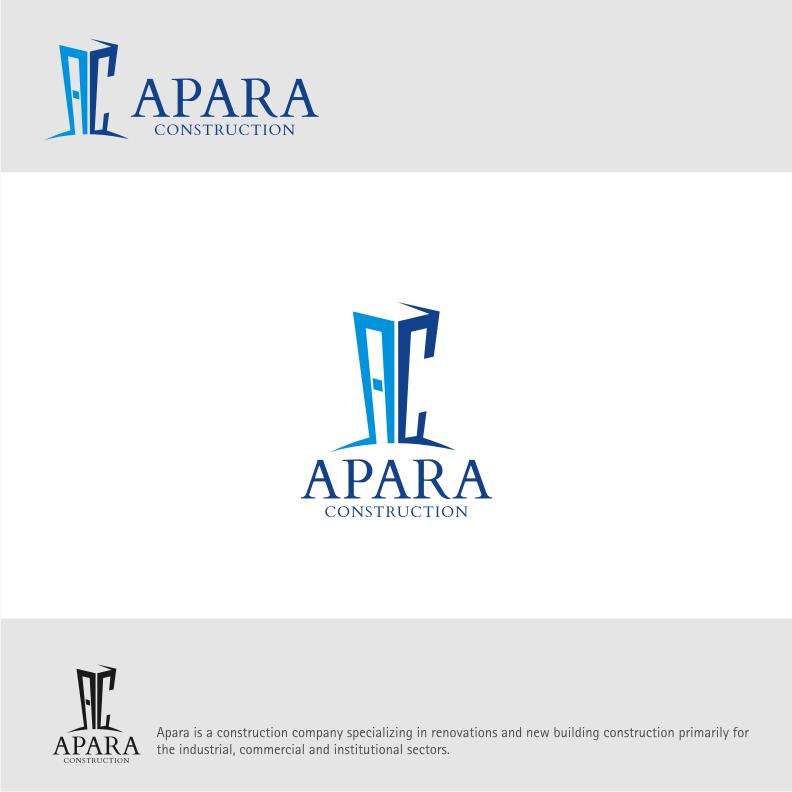 Logo Design by Muhammad Nasrul chasib - Entry No. 86 in the Logo Design Contest Apara Construction Logo Design.