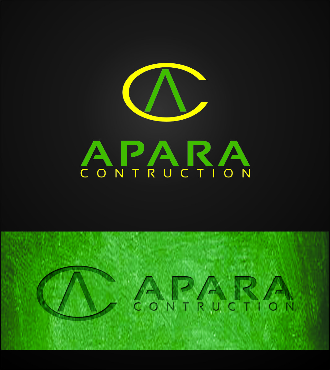Logo Design by Ngepet_art - Entry No. 87 in the Logo Design Contest Apara Construction Logo Design.