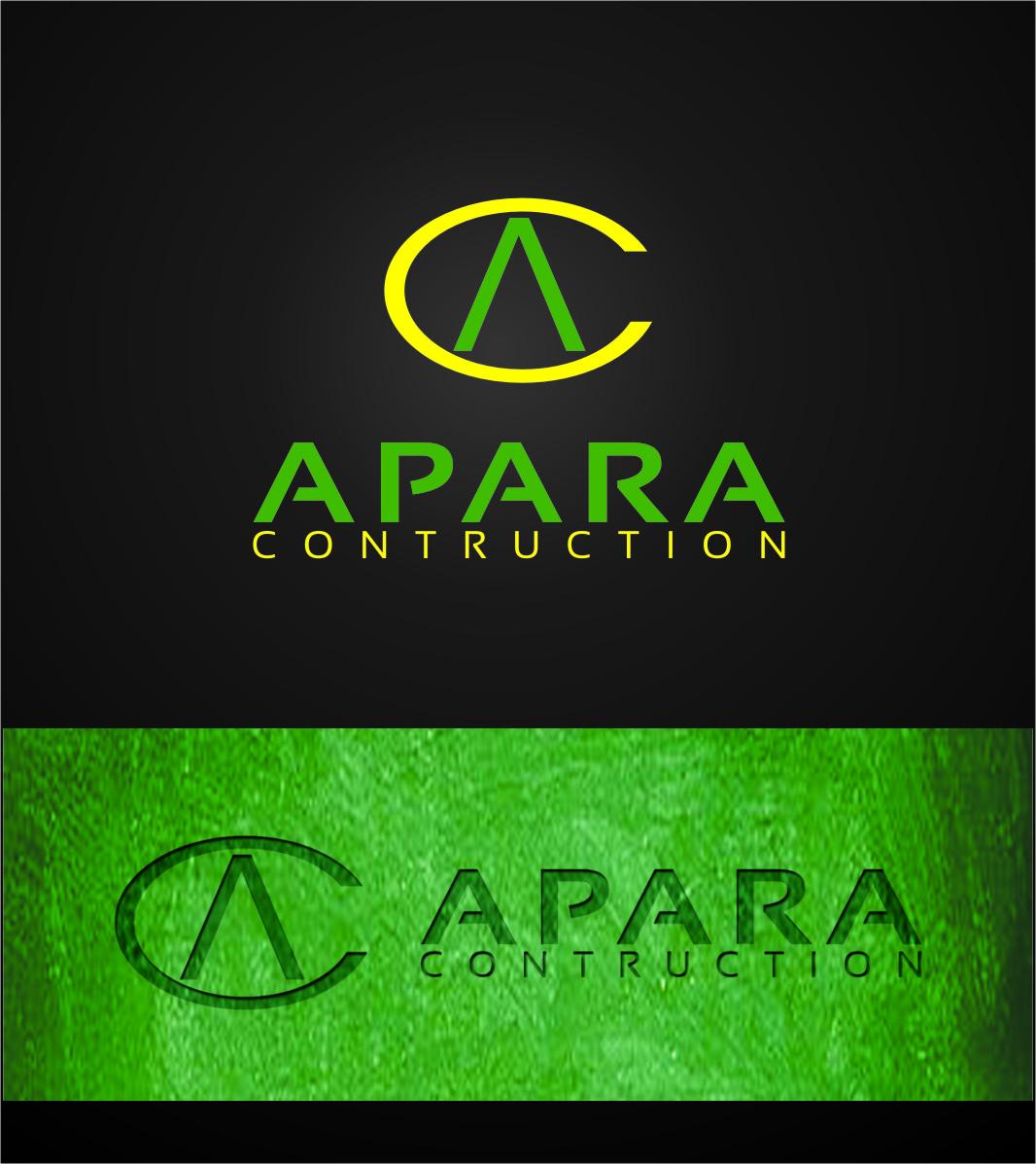 Logo Design by RoSyid Rono-Rene On Java - Entry No. 87 in the Logo Design Contest Apara Construction Logo Design.