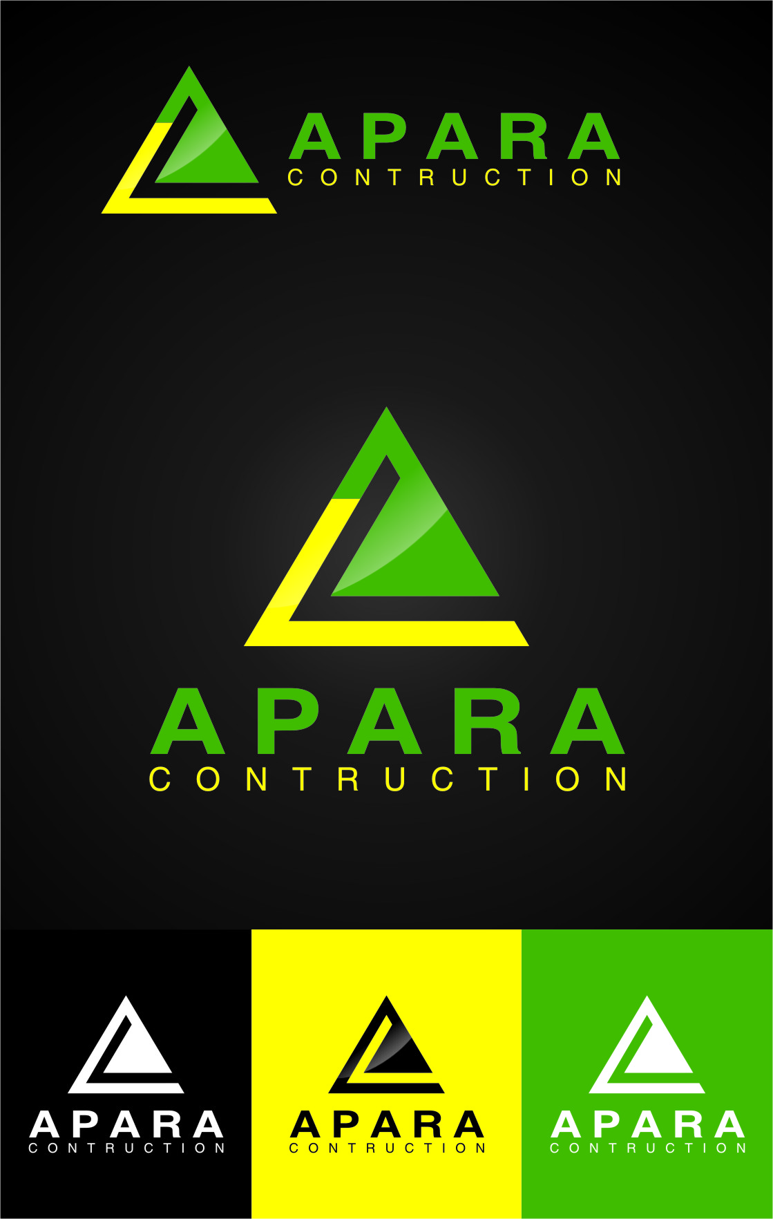 Logo Design by Ngepet_art - Entry No. 89 in the Logo Design Contest Apara Construction Logo Design.