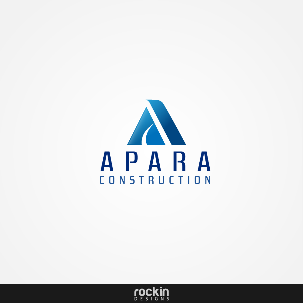 Logo Design by rockin - Entry No. 91 in the Logo Design Contest Apara Construction Logo Design.