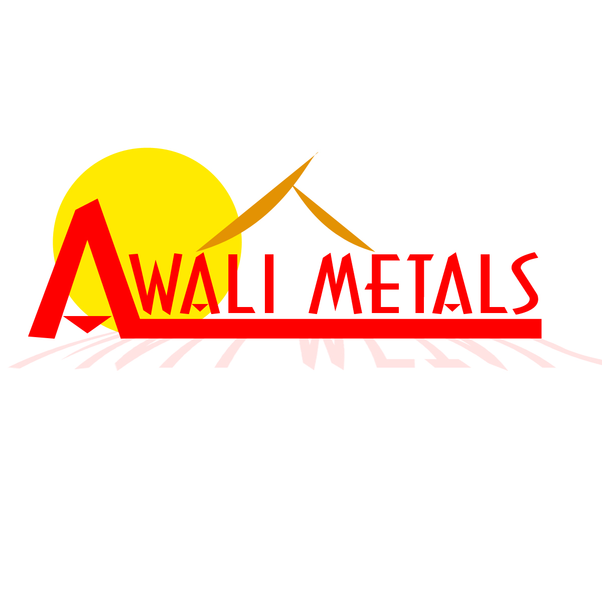 Logo Design by Bronzebeard Kristoffer - Entry No. 2 in the Logo Design Contest Inspiring Logo Design for Al Wali Metals.