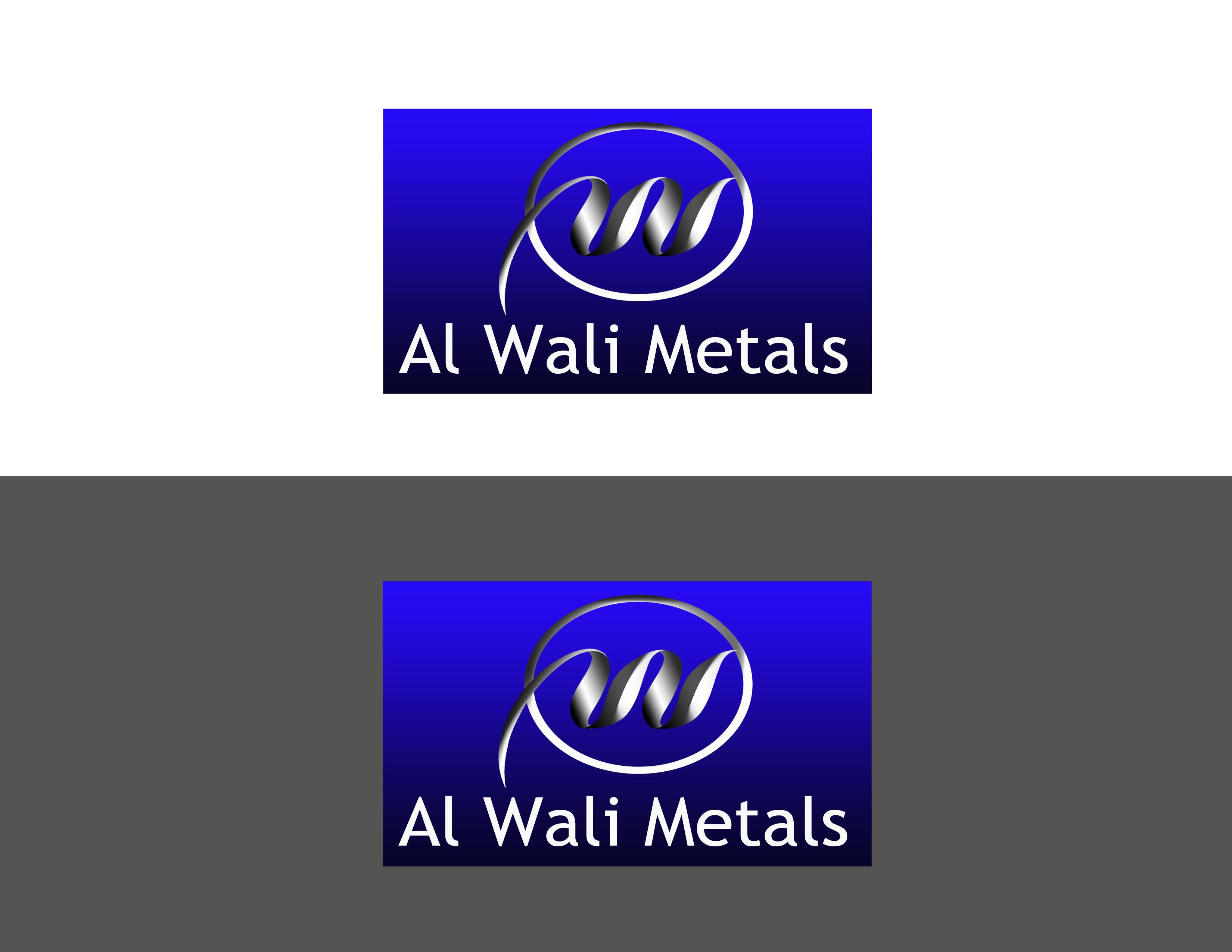 Logo Design by Alan Esclamado - Entry No. 3 in the Logo Design Contest Inspiring Logo Design for Al Wali Metals.