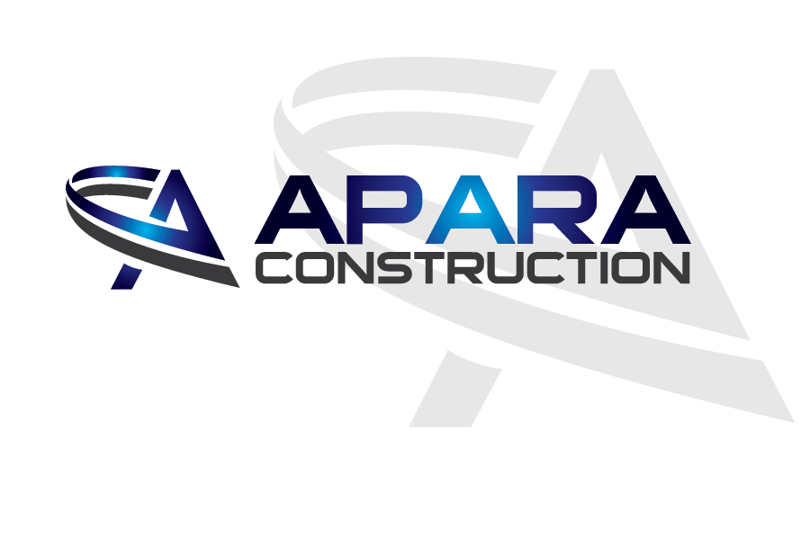 Logo Design by Private User - Entry No. 95 in the Logo Design Contest Apara Construction Logo Design.