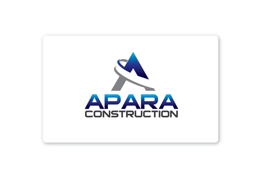 Logo Design by Private User - Entry No. 96 in the Logo Design Contest Apara Construction Logo Design.