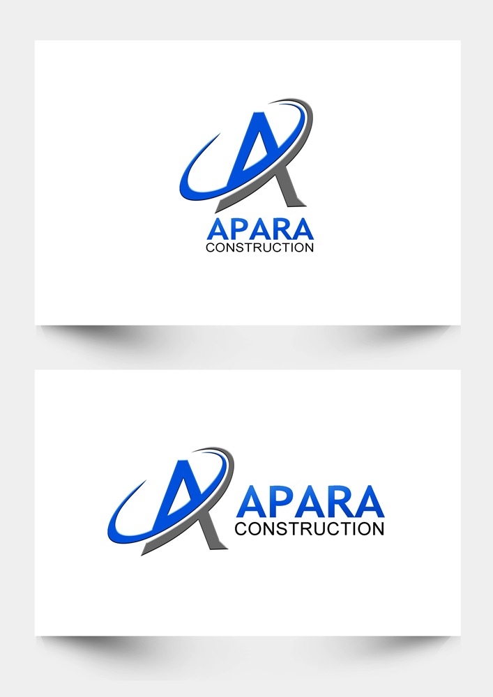Logo Design by Respati Himawan - Entry No. 97 in the Logo Design Contest Apara Construction Logo Design.