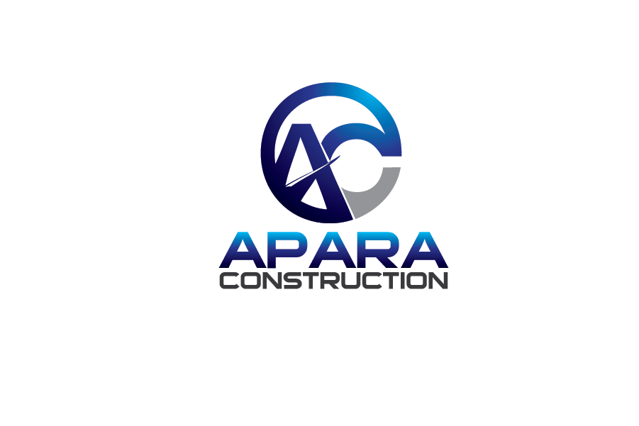 Logo Design by Private User - Entry No. 98 in the Logo Design Contest Apara Construction Logo Design.