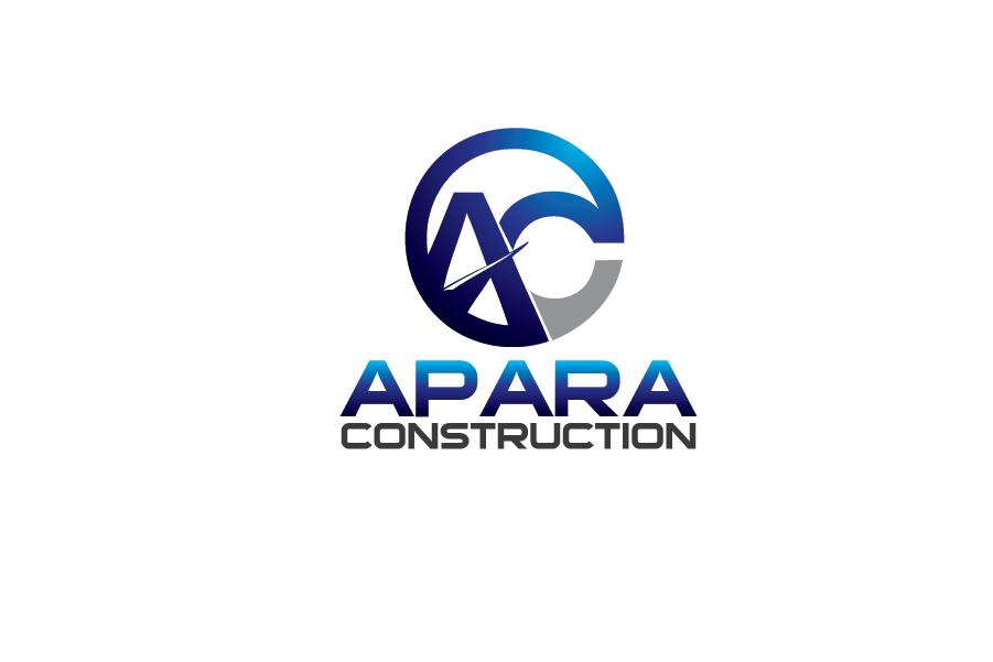 Logo Design by Private User - Entry No. 98 in the Logo Design Contest Apara Construction Logo Design.