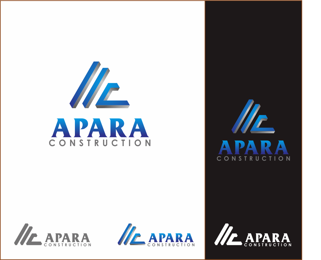 Logo Design by Armada Jamaluddin - Entry No. 101 in the Logo Design Contest Apara Construction Logo Design.