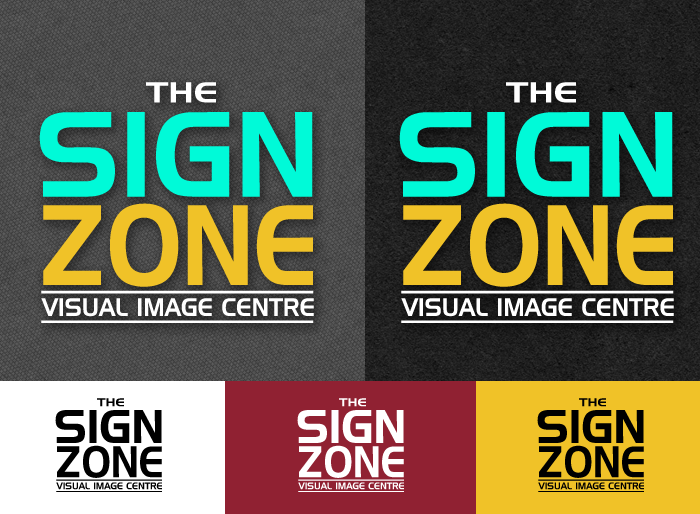Logo Design by Jan Chua - Entry No. 38 in the Logo Design Contest Fun Logo Design for The Sign Zone.