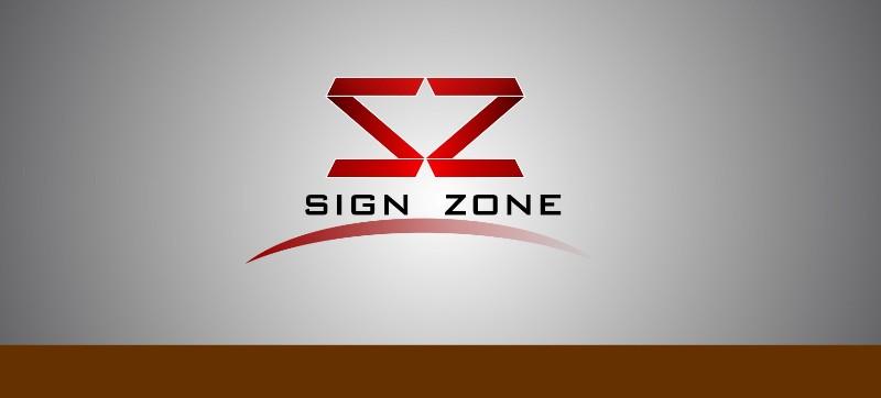 Logo Design by Crispin Jr Vasquez - Entry No. 39 in the Logo Design Contest Fun Logo Design for The Sign Zone.