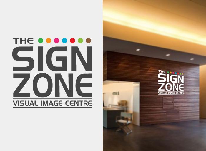 Logo Design by Jan Chua - Entry No. 40 in the Logo Design Contest Fun Logo Design for The Sign Zone.