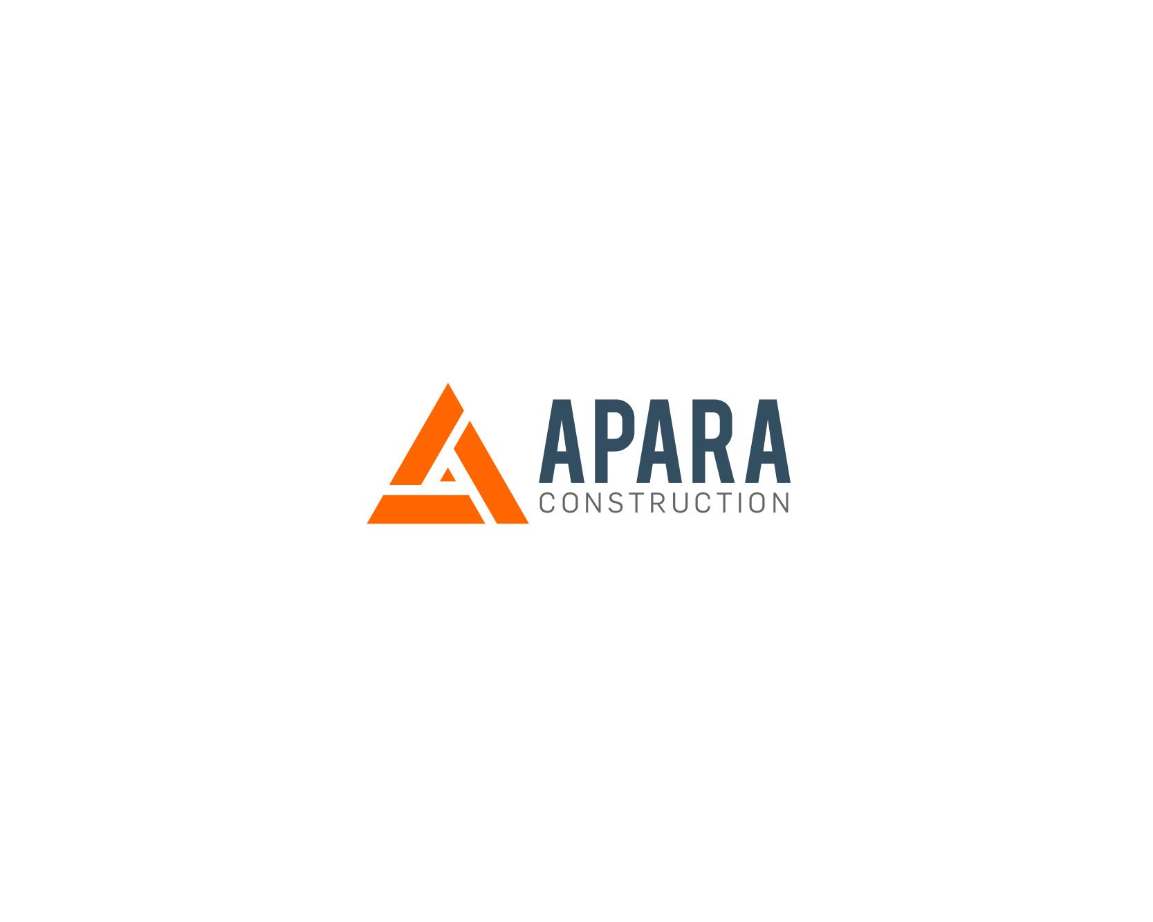 Logo Design by nejikun - Entry No. 102 in the Logo Design Contest Apara Construction Logo Design.