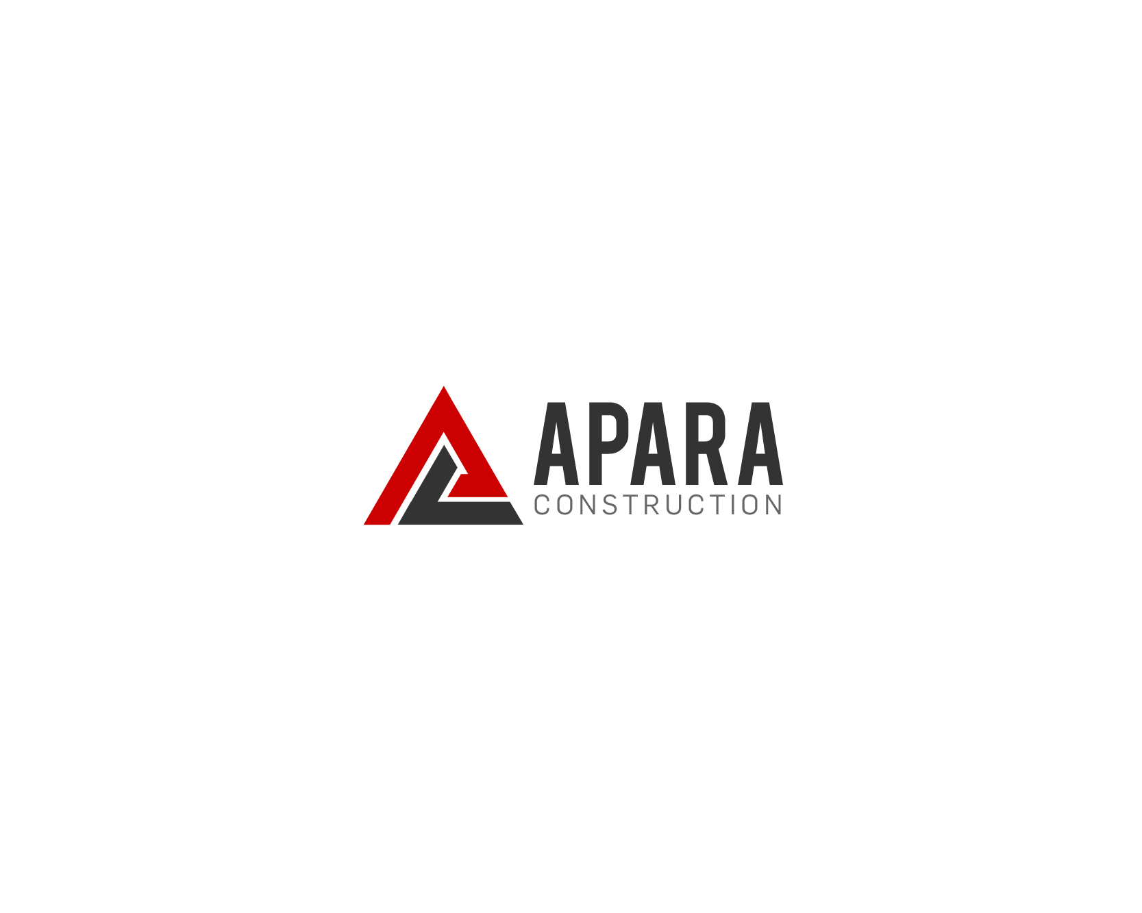 Logo Design by nejikun - Entry No. 103 in the Logo Design Contest Apara Construction Logo Design.