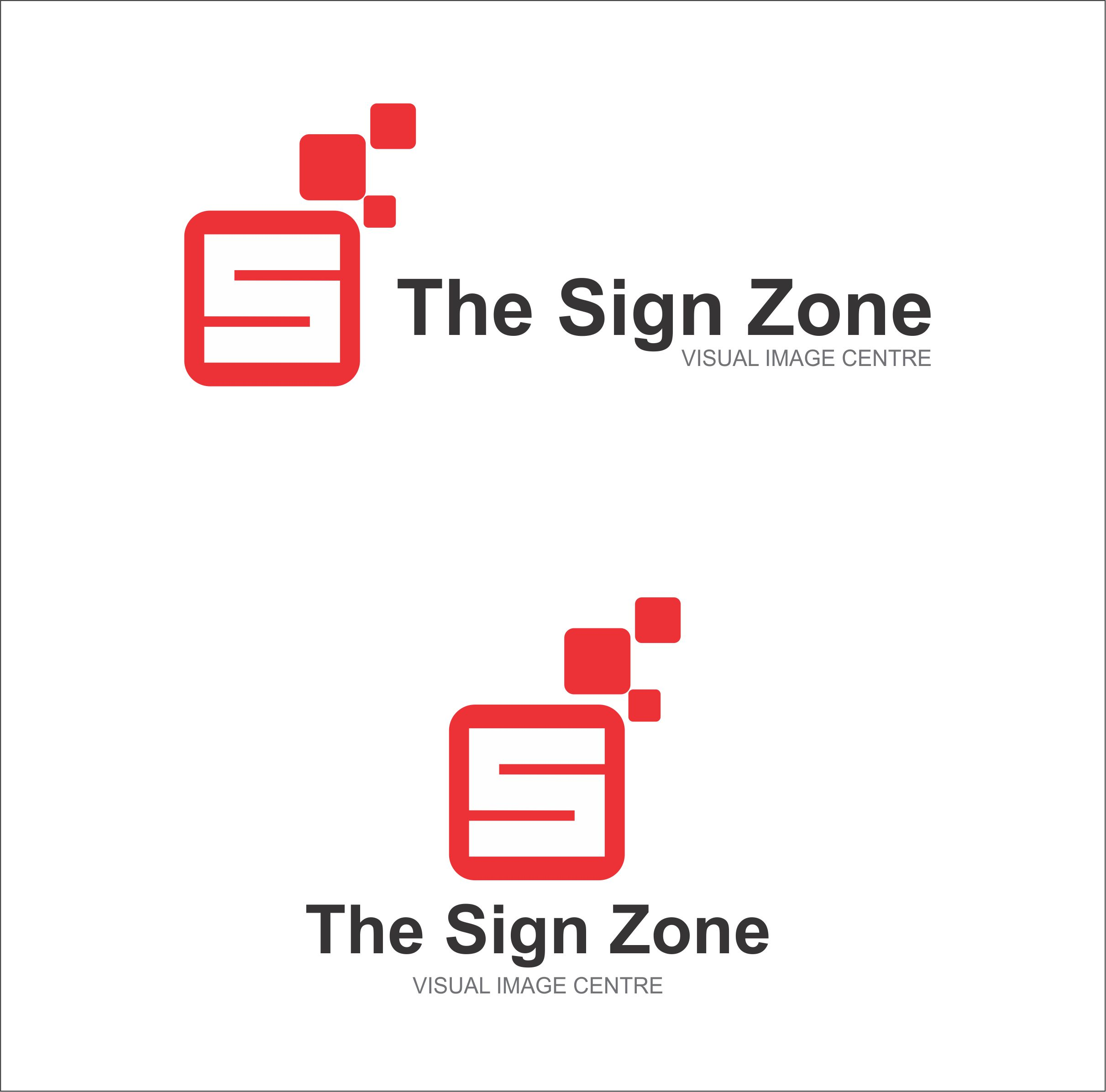Logo Design by Private User - Entry No. 41 in the Logo Design Contest Fun Logo Design for The Sign Zone.