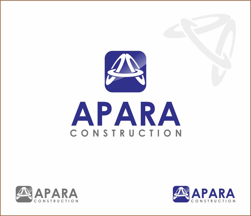 Logo Design by Armada Jamaluddin - Entry No. 105 in the Logo Design Contest Apara Construction Logo Design.