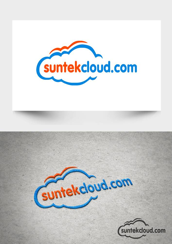 Logo Design by Respati Himawan - Entry No. 46 in the Logo Design Contest Imaginative Logo Design for suntekcloud.com.