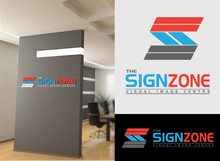 Logo Design by Jan Chua - Entry No. 42 in the Logo Design Contest Fun Logo Design for The Sign Zone.