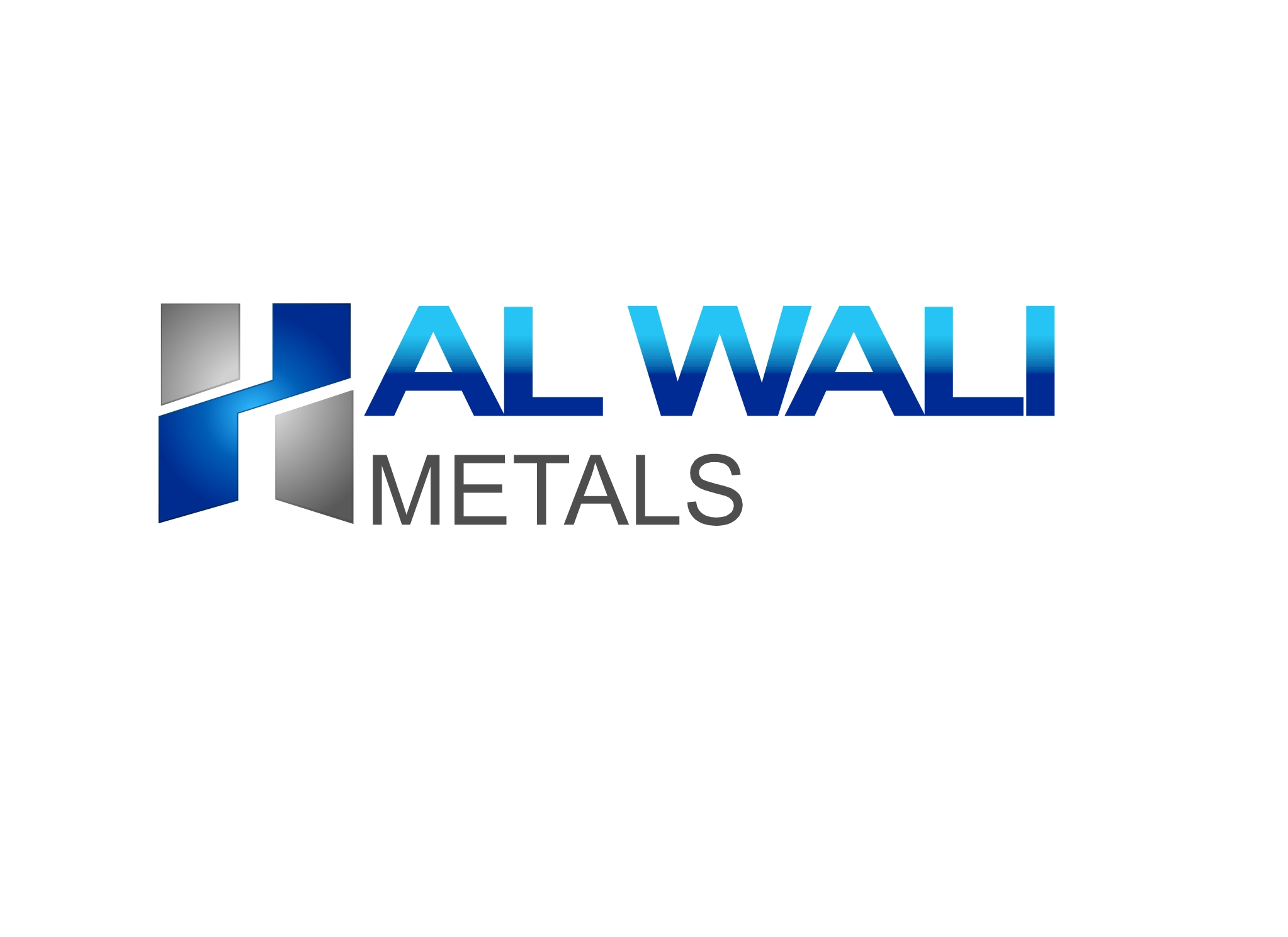 Logo Design by Marco Paulo Jamero - Entry No. 10 in the Logo Design Contest Inspiring Logo Design for Al Wali Metals.