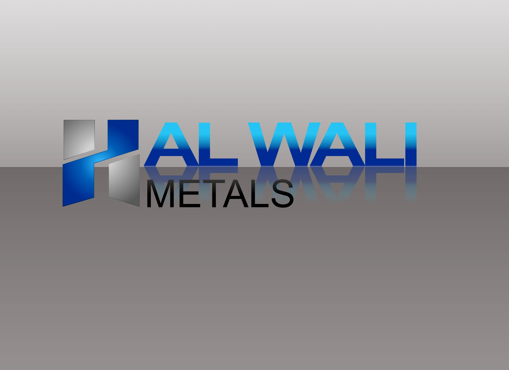 Logo Design by Marco Paulo Jamero - Entry No. 11 in the Logo Design Contest Inspiring Logo Design for Al Wali Metals.