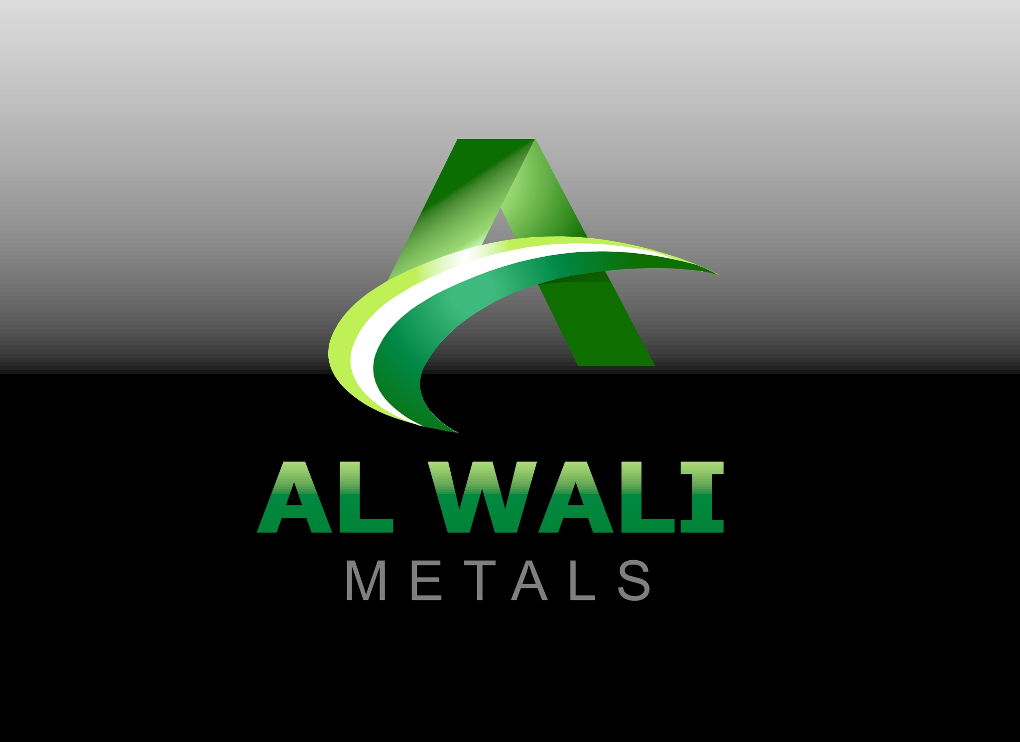 Logo Design by Marco Paulo Jamero - Entry No. 12 in the Logo Design Contest Inspiring Logo Design for Al Wali Metals.