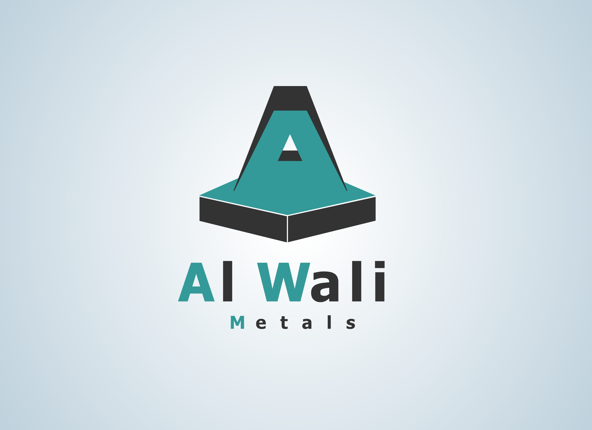 Logo Design by Marco Paulo Jamero - Entry No. 13 in the Logo Design Contest Inspiring Logo Design for Al Wali Metals.