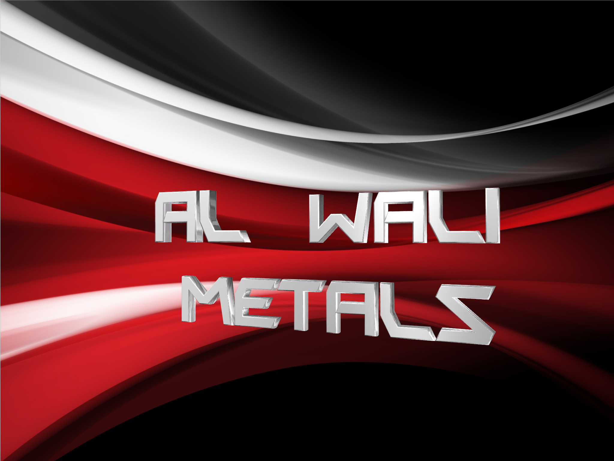 Logo Design by Marco Paulo Jamero - Entry No. 16 in the Logo Design Contest Inspiring Logo Design for Al Wali Metals.