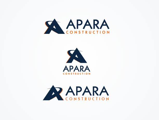 Logo Design by Peter Palma - Entry No. 110 in the Logo Design Contest Apara Construction Logo Design.