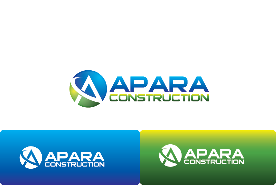 Logo Design by brands_in - Entry No. 112 in the Logo Design Contest Apara Construction Logo Design.