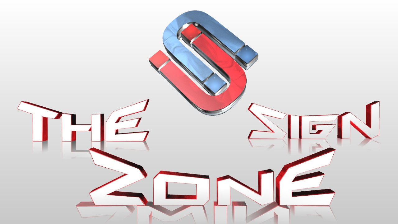Logo Design by Marco Paulo Jamero - Entry No. 43 in the Logo Design Contest Fun Logo Design for The Sign Zone.