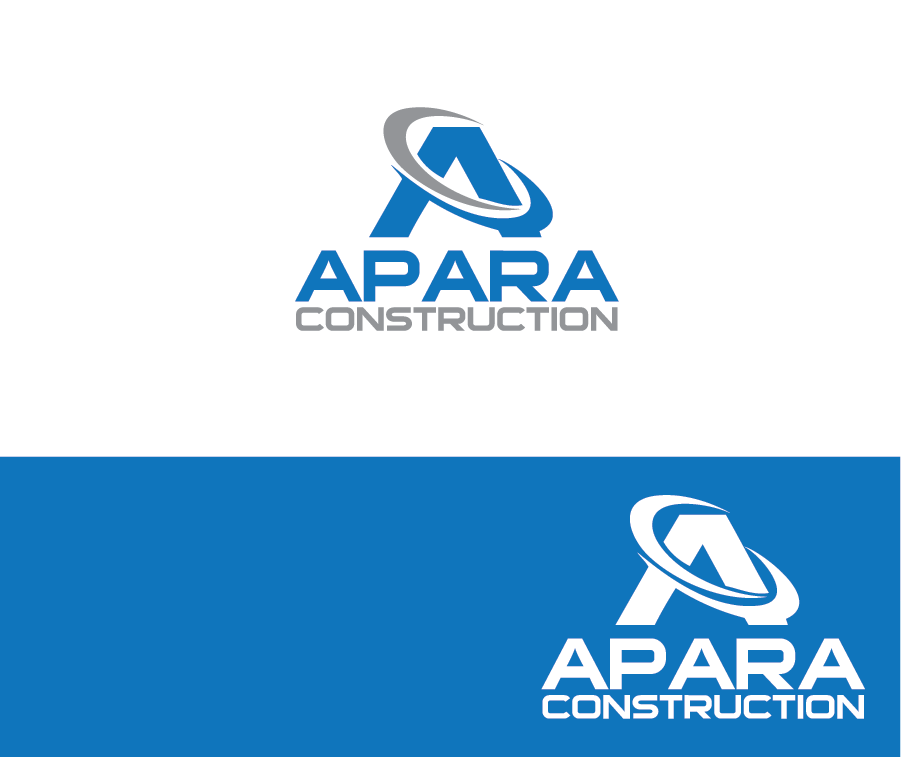 Logo Design by brands_in - Entry No. 113 in the Logo Design Contest Apara Construction Logo Design.