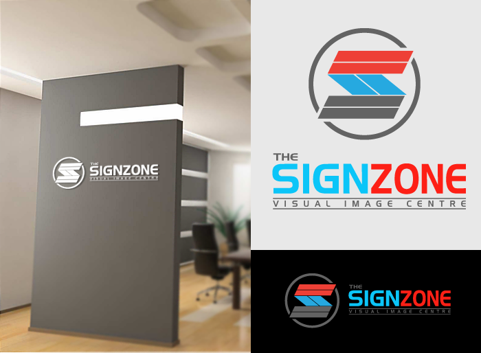 Logo Design by Jan Chua - Entry No. 45 in the Logo Design Contest Fun Logo Design for The Sign Zone.