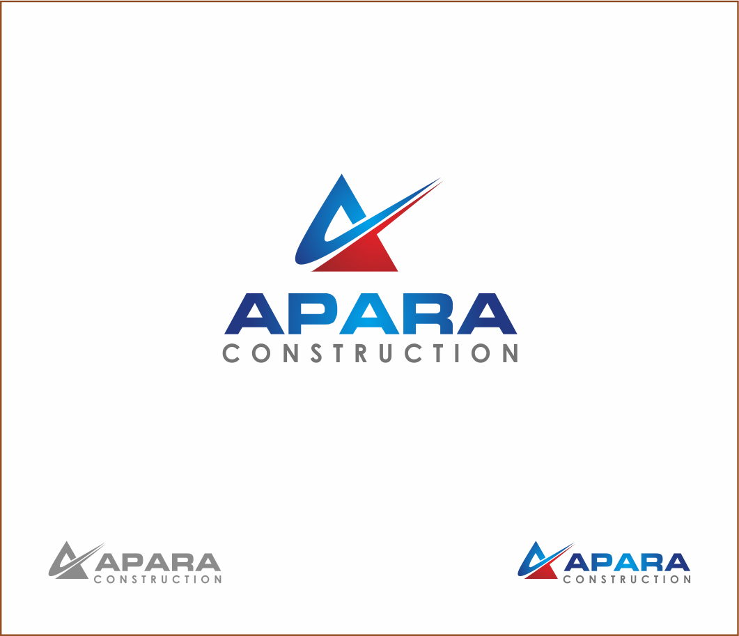 Logo Design by Armada Jamaluddin - Entry No. 116 in the Logo Design Contest Apara Construction Logo Design.