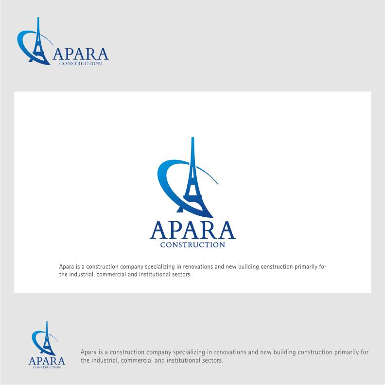 Logo Design by graphicleaf - Entry No. 118 in the Logo Design Contest Apara Construction Logo Design.