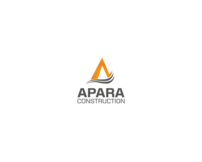 Logo Design by kirmis - Entry No. 119 in the Logo Design Contest Apara Construction Logo Design.