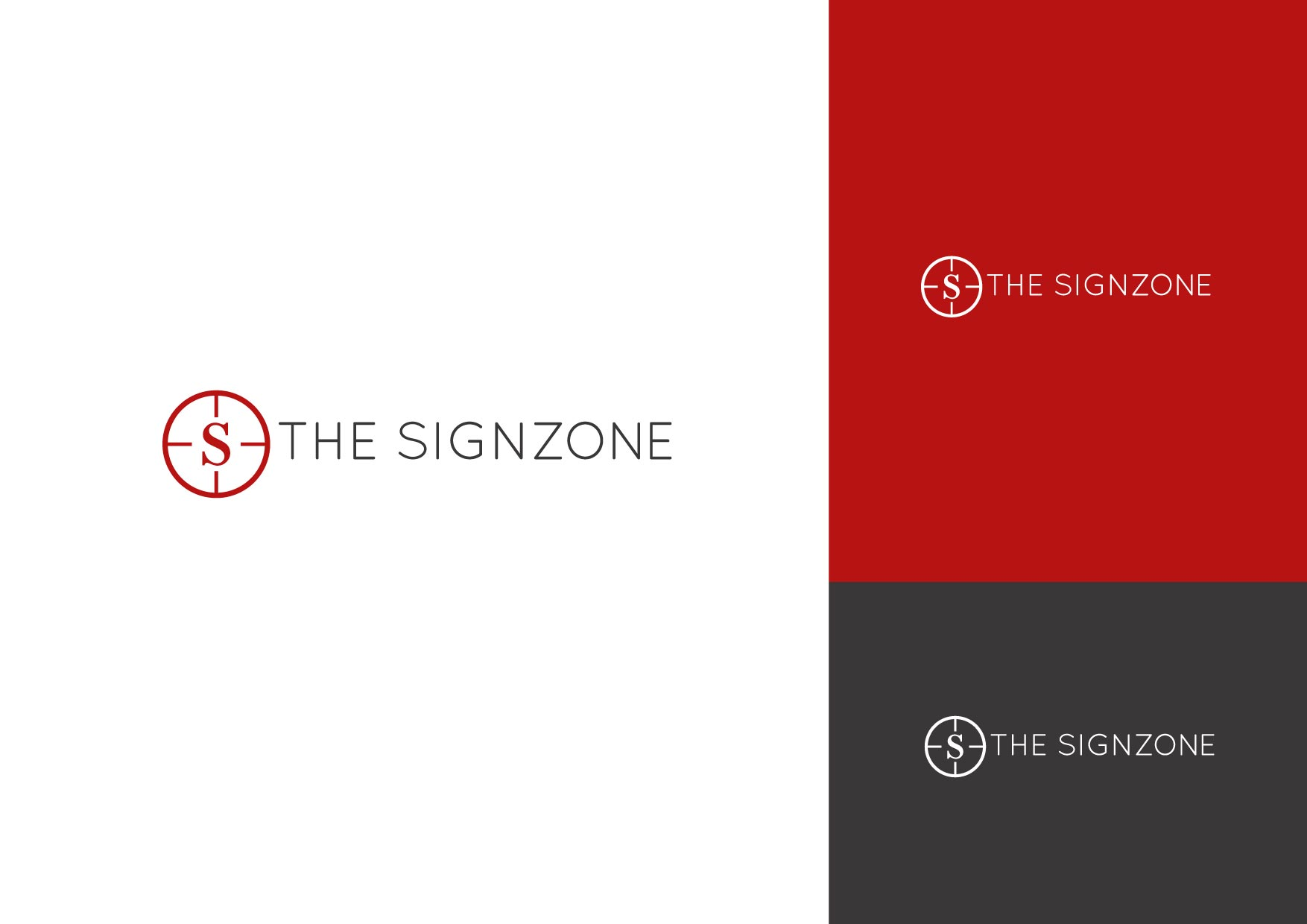 Logo Design by Osi Indra - Entry No. 49 in the Logo Design Contest Fun Logo Design for The Sign Zone.