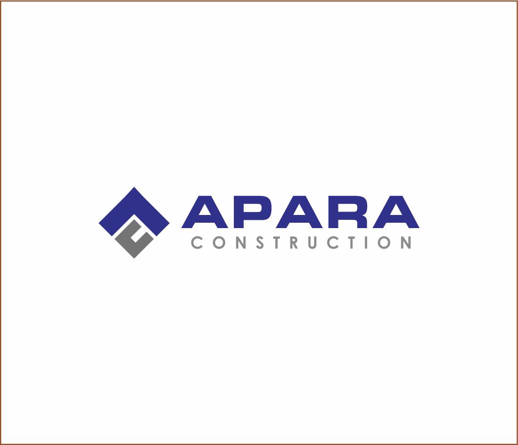 Logo Design by Armada Jamaluddin - Entry No. 128 in the Logo Design Contest Apara Construction Logo Design.