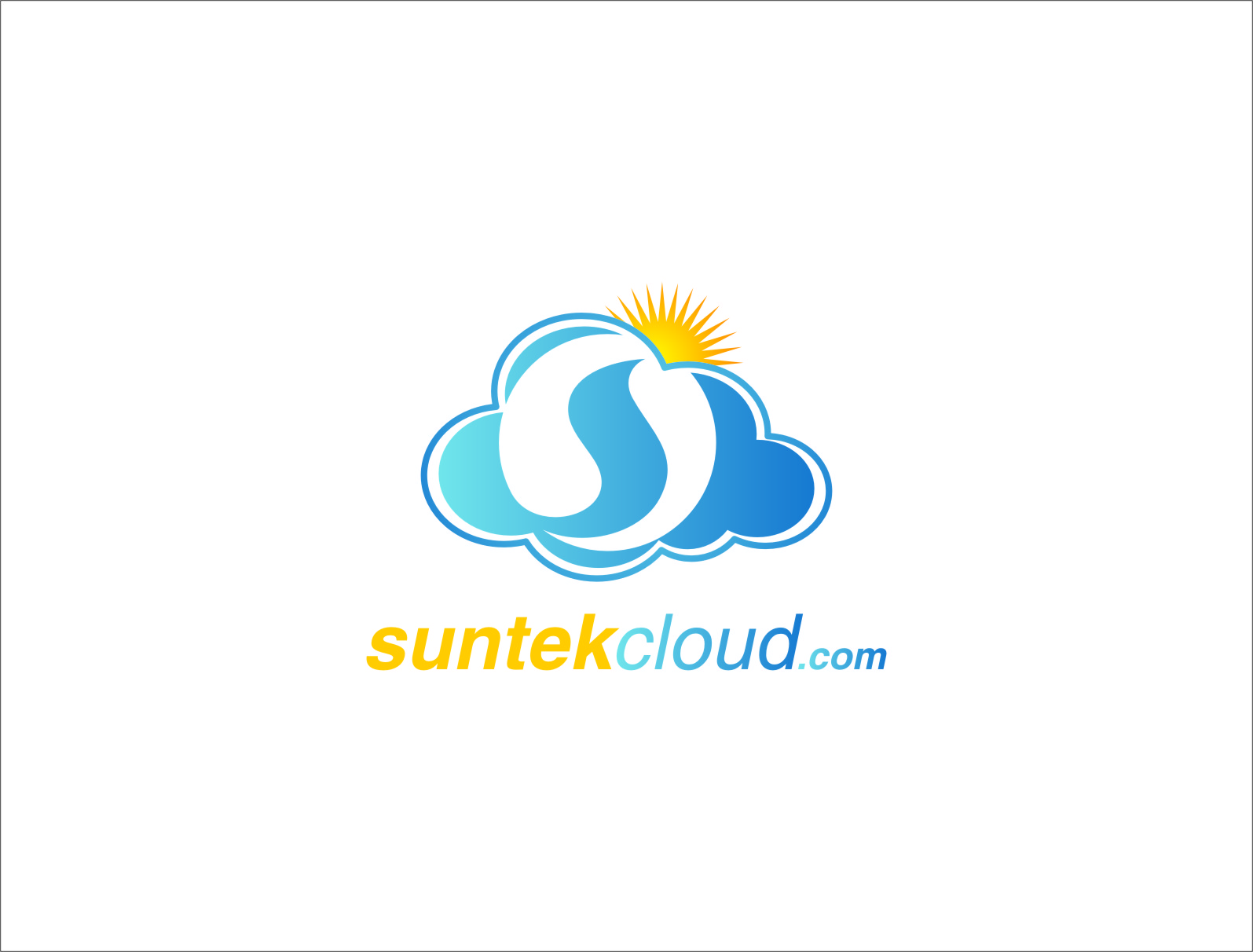 Logo Design by Ngepet_art - Entry No. 55 in the Logo Design Contest Imaginative Logo Design for suntekcloud.com.