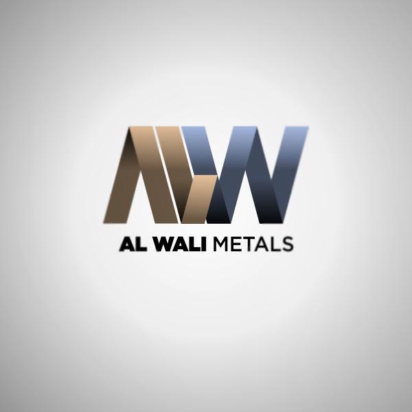 Logo Design by Private User - Entry No. 19 in the Logo Design Contest Inspiring Logo Design for Al Wali Metals.
